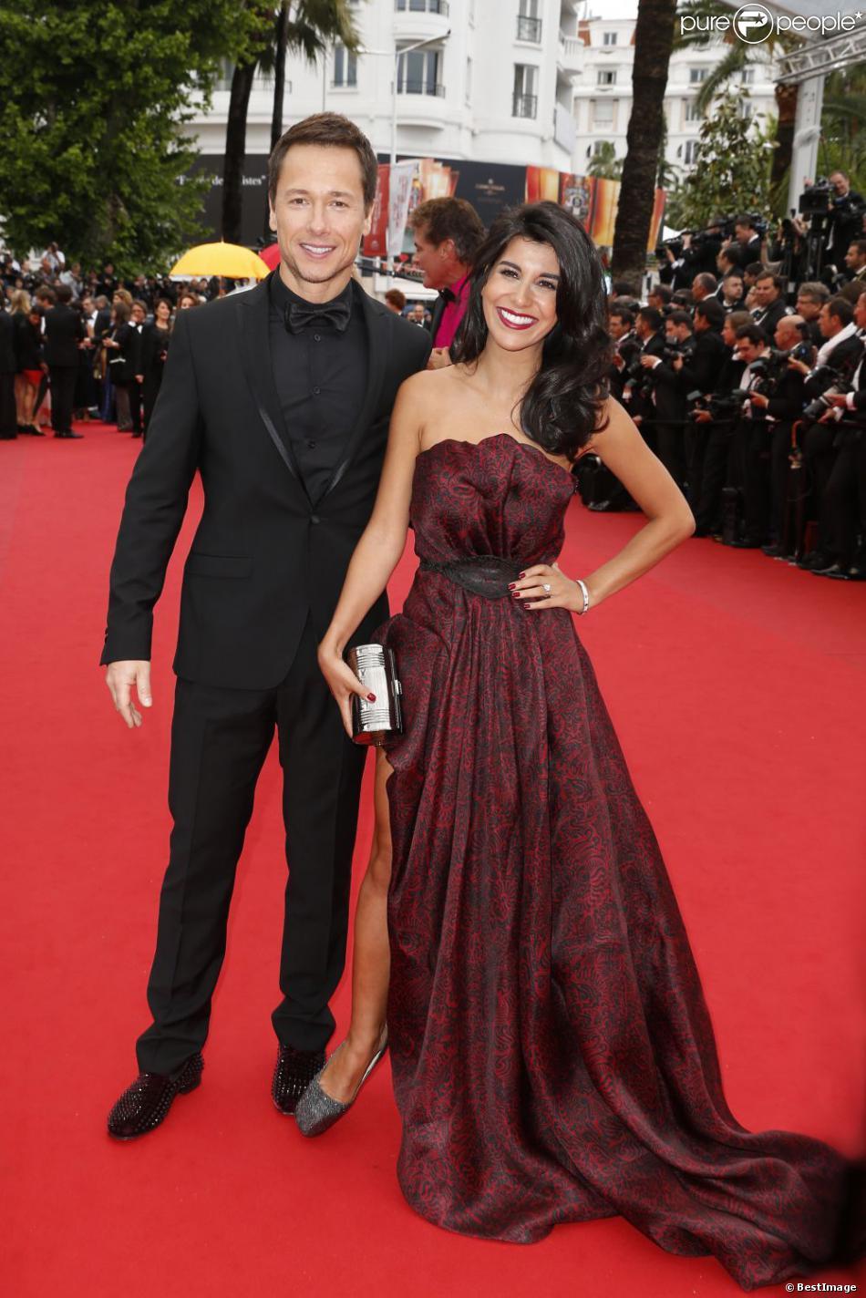 Stéphane Rousseau et sa compagne Reem Kherici lors du Festival de Cannes 2013