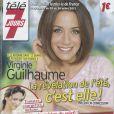 Virginie Guilhaume en couverture de Télé 7 Jours, en kiosques le 15 juillet 2013.