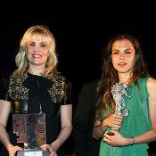 Emmanuelle Seigner avec sa fille Morgane Polanski pour goûter à la dolce vita