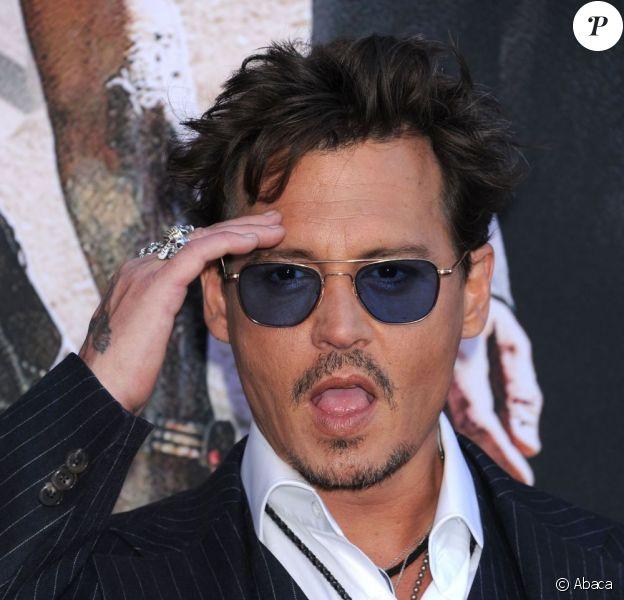 Johnny Depp en pleine forme à Los Angeles, le 22 juin 2013.