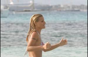 PHOTOS : Michelle Hunziker, ex d'Eros Ramazzotti, une magnifique maman en vacances !