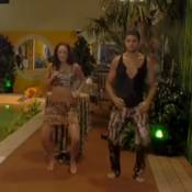Secret Story 7 : Julien, Tarzan d'un soir, drague Emilie pendant la jungle night