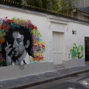 Serge Gainsbourg : Le nouveau mur de sa dernière maison à nouveau graffé