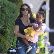 Kristin Davis : Maman radieuse et naturelle avec sa craquante Gemma Rose