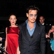 Johnny Depp et Amber Heard : Dîner en amoureux avec Bruce Willis et sa femme