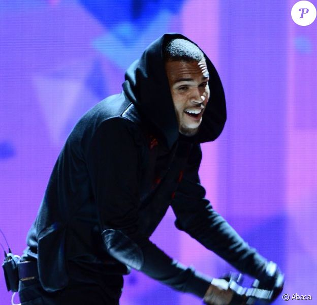 Chris Brown lors des BET Awards à Los Angeles, le 30 juin 2013.