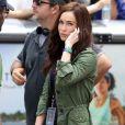Megan Fox sur le tournage de Teenage Mutant Ninja Turtle à New York, le 22 juillet 2013.
