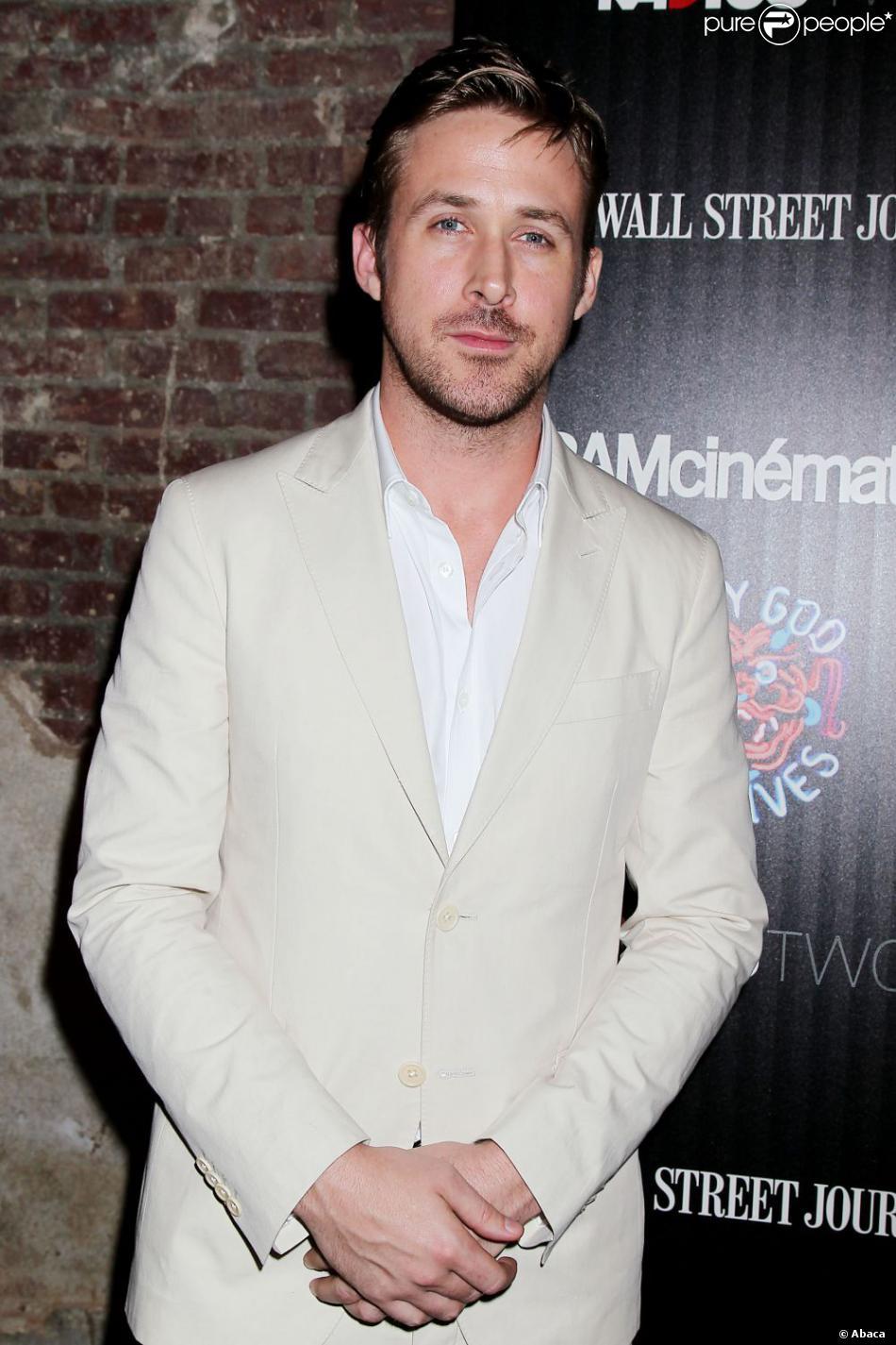 Ryan Gosling à New York le 16 juillet 2013 pour la présentation du film Only God Forgives