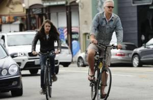 Tim Robbins et son fils très chevelu, Miles, 21 ans : Un tandem qui roule !