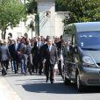 Obsèques de Valérie Langau cimetière de Montparnasse à Paris le 25 juillet 2013