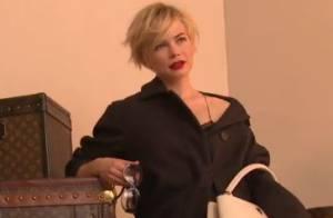 Michelle Williams : Ravissante égérie de Louis Vuitton, gracieuse et détendue