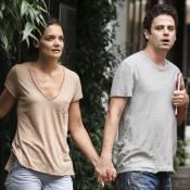Katie Holmes : Une dépressive apaisée, main dans la main avec son chéri