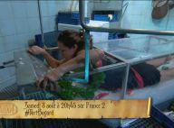 Fort Boyard : Marine Lorphelin fait monter la température dans un bain glacial