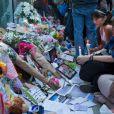 De nombreux anonymes ont rendu hommage à Cory Monteith.