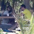Lea Michele et Cory Monteith à Puerto Vallarta, le 7 mai 2013.