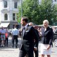 Le prince Haakon et la princesse Mette-Marit de Norvège assistaient le 22 juillet 2013 en la cathédrale d'Oslo à un service commémorant les victimes des attentats perpétrés en 2011 par Anders Behring Breivik.