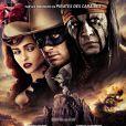 L'affiche du film Lone Ranger, en salles le 7 août