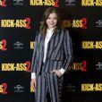 Chloë Moretz en toute élégance lors du photocall du film Kick-Ass 2 à Londres le 5 août 2013.