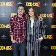 Chloë Moretz et Christopher Mintz-Plasse au photocall du film Kick-Ass 2 à Londres le 5 août 2013.