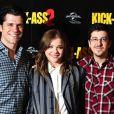 Christopher Mintz-Plasse et Chloë Grace Moretz au photocall du film Kick-Ass 2 à Londres le 5 août 2013.