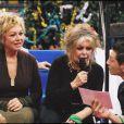 Brigitte Bardot et Mylene Demongeot - Journée spéciale d'adoption à Levallois-Perret Le 11 décembre 2005.