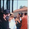 Michael Jackson et Debbie Rowe en mai 1996