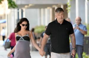 Alec Baldwin : Balade en amoureux avec sa superbe femme enceinte