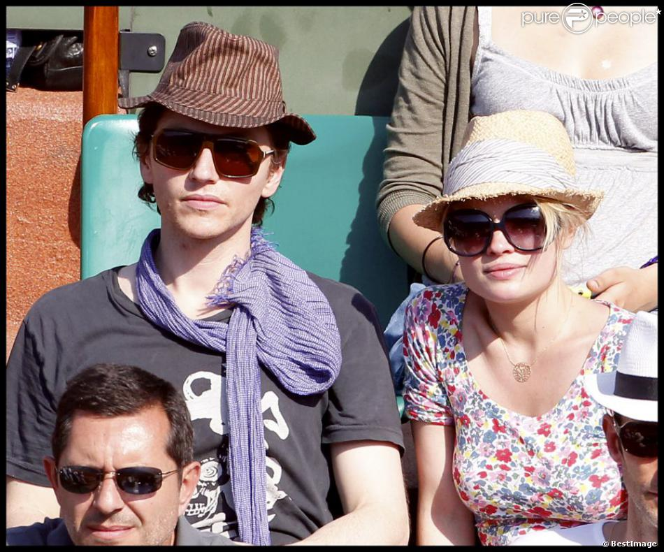 Rapha l et m lanie thierry en couple roland garros 2010 - Raphael de casabianca en couple ...