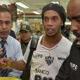 Ronaldinho à La Paz, le 14 mars 2013.