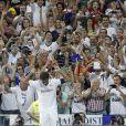 Raúl dans le stadeSantiago Bernabeu à Madrid pour le match Real Madrid-Al Saad (5-0) en son hommage le 22 août 2013.