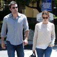 Jennifer Garner et Ben Affleck à Santa Monica, Los Angeles, le 17 août 2013.