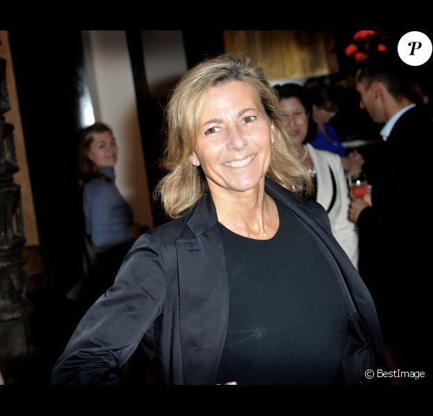 Claire Chazal à Paris, en juin 2013.