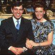Sarah Ferguson et le prince Andrew, duc d'York, en avril 1993