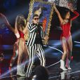 Robin Thicke sur la scène des MTV Video Music Awards 2013 à New York, le 25 août 2013.