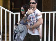 Megan Fox, enceinte : Sortie discrète avec Brian Austin Green et leur petit Noah