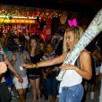 """""""Beyoncé se lâche au parc d'attractions de Coney Island pour le tournage de son clip à New York, le 29 août 2013."""""""