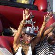 """""""Beyoncé filme son nouveau clip à Coney Island, le 29 août 2013."""""""