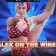 Charlotte on the wire dans The Best : le meilleur artiste sur TF1 le vendredi 30 août 2013