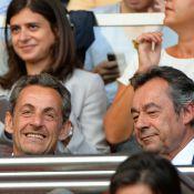 Nicolas Sarkozy et son clan : Avec Jean et Solal pour fêter la victoire du PSG