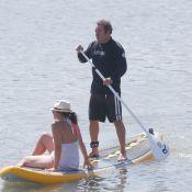 Fabien Onteniente avec sa bien-aimée : Vacances sereines sous le soleil basque