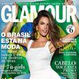 Alessandra Ambrosio en couverture de l'édition brésilienne du magazine Glamour. Photo par Robert Astley Sparke.