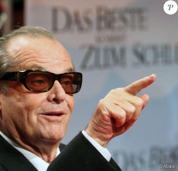 Jack Nicholson à Berlin, le 21 janvier 2008.