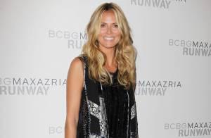 Fashion Week : Heidi Klum, invitée chic et glam pour le coup d'envoi