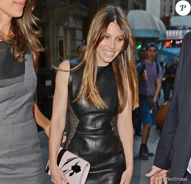 Jessica Biel lors de la première cérémonie des Fashion Media Awards, le 6 septembre 2013 à New York.