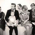 David et Harper Beckham attirent toute l'attention lors du défilé Victoria Beckham printemps-été 2014. New York, le 8 septembre 2013.