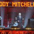 Eddy Mitchell aux Victoires de la musique, à Paris le 1er mars 2011.