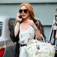 Lindsay Lohan à New York,  le 31 août 2013.