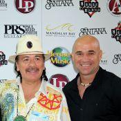 Andre Agassi et Carlos Santana : Duo musical au milieu d'enfants heureux