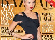"""Miley Cyrus, stupéfiante : Sa couv' glamour et élégante pour """"Harper's Bazaar"""""""