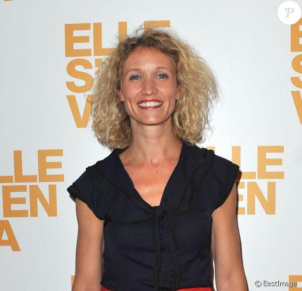 Alexandra Lamy lors de l'avant-première du film Elle s'en va à Paris au cinéma L'Arlequin le 16 septembre 2013